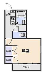 パレス・HIRO[2階]の間取り