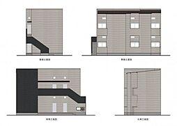(仮称)小路東3丁目B棟[1階]の外観