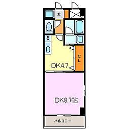 アクセス28[4階]の間取り