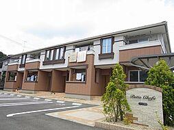 山口県下関市長府松小田本町の賃貸アパートの外観