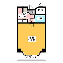 アフィニス仙台[2階]の間取り