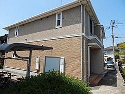 広島県福山市多治米町6の賃貸アパートの外観
