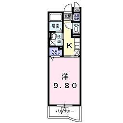 セレノ・カーサ A[3階]の間取り
