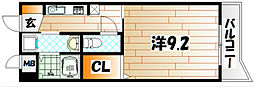 ルミネスタ学研台[2階]の間取り