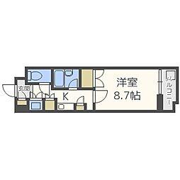 FC南7条[5階]の間取り