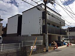 兵庫県尼崎市南武庫之荘2丁目の賃貸マンションの外観