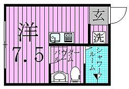 II−style足立舎人[1階]の間取り