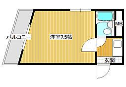 DH第一ビル[3階]の間取り