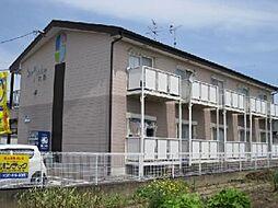 愛知県江南市今市場町美和の賃貸アパートの外観