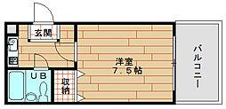 メゾン岩浅[3階]の間取り