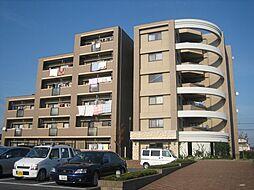 埼玉県北本市緑2丁目の賃貸マンションの外観