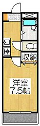 アマデウス麩屋町二条[502号室]の間取り