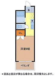 メゾンド ルポ[2階]の間取り