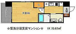 エステムプラザ神戸西4インフィニティ[9階]の間取り