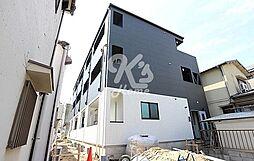 兵庫県神戸市須磨区東町1丁目の賃貸アパートの外観