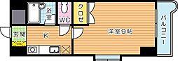 KMマンション産医大前[6階]の間取り