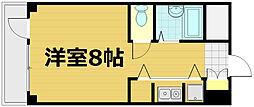 第24長栄アビタシオン[302号室]の間取り