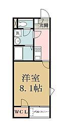 レオネクストマ メゾン[2階]の間取り
