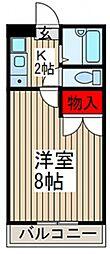 サンD[2階]の間取り