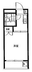ハイタウン大倉山第1[4階]の間取り