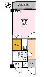 コーポ朝倉[303号室号室]の間取り