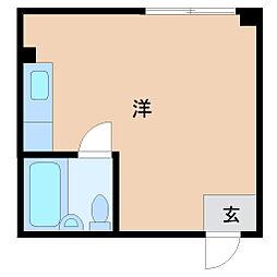兵庫県尼崎市東難波町5丁目の賃貸マンションの間取り