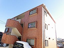 東京都昭島市昭和町3丁目の賃貸マンションの外観
