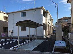 千葉県柏市永楽台1丁目の賃貸アパートの外観