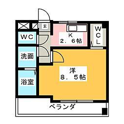 KASUGAI 21[4階]の間取り