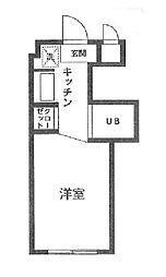 ベルトピア[1階]の間取り