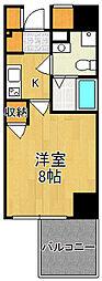 サムティ西宮レジデンス[6階]の間取り