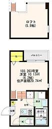 仮)大阪市旭区清水四丁目SKHコーポ[1階]の間取り