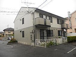 愛媛県松山市衣山1丁目の賃貸アパートの外観