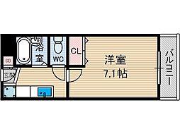 プラスコート茨木中央[2階]の間取り
