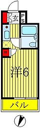 ウィンベルソロ八柱第5[103号室]の間取り
