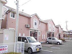 兵庫県姫路市辻井4丁目の賃貸アパートの外観