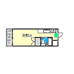 葵コーポ[1階]の間取り