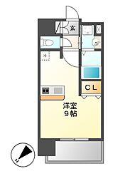 プレサンス新栄リミックス[6階]の間取り