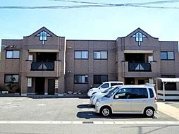 愛知県あま市上萱津大門の賃貸アパートの外観