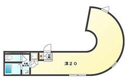 CASA小治郎[2階]の間取り