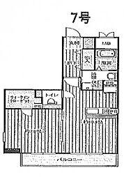 レジェンドール心斎橋東 G-レジデンス[3階]の間取り