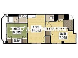 京橋ビル新館[6階]の間取り