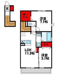 Livable House[2階]の間取り