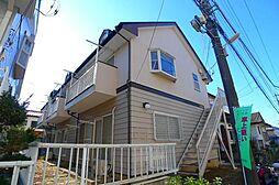 千葉県松戸市串崎南町の賃貸アパートの外観