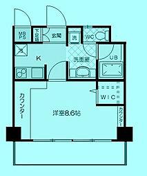 シルキーコート溝ノ口[2階]の間取り