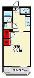 ランブイエ南福岡[3階]の間取り