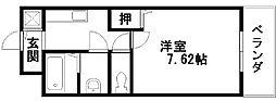 アンシャンテ元町[207号室]の間取り