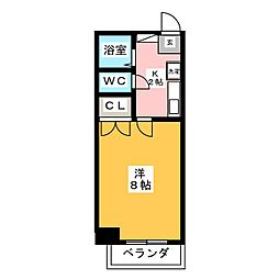 ヒサスイコー[5階]の間取り