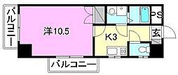 カサグランデ枝松[501 号室号室]の間取り