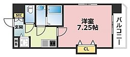 Luxe深江橋[901号室号室]の間取り